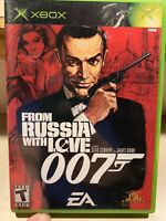 Xbox Video Game James Bond 007 From Russia with Love Microsoft
