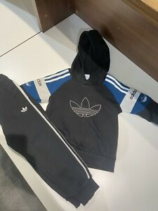 Boys Adidas Tracksuit 5-6