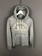 ABERCROMBIE & FITCH Hoodie - Small - Grey - Great Condition - Men's