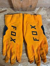 Fox Racing Guantes-Naranja-UK L-Usada con defectos-I001