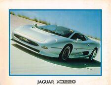 Jaguar <USA> XJ220 Factory Brochure / Card + BONUS: XJ-220, 1992/1993/1994