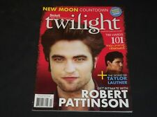 2009 FALL BECKETT'S TWILIGHT MAGAZINE - NEW MOON- ROBERT PATTISON COVER - O 8383