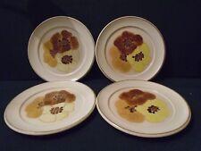 Four  Denby ' Minstral' salad plates