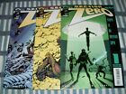 Image Comics Section Zero #1, 2 & 3 by Karl Kesel 2000 in Nice condition