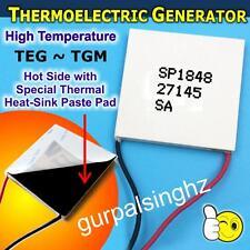 TEG SP1848-27145 SA TGM Thermoelectric Generator Peltier Module Heat Power