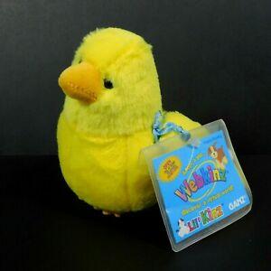 """Ganz Webkinz Lil Kinz Canary 4.5"""" Plush Stuffed Animal Toy HS511 Sealed Code"""