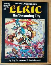 MARVEL GRAPHIC NOVEL #2 1982 1ST PRINTING ELRIC THE DREAMING CITY MINT!!!!!