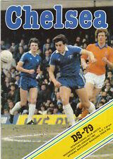FOOTBALL  PROGRAMME  -  CHELSEA  V  DS-79  ( HOLLAND )  -  14  JAN  1981