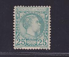 MONACO N°    6 * MLH neuf légère charnière, signé Brun, TB, cote:1020.00 €