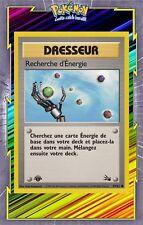 🌈Recherche d'Energie- Fossile Edition 1 - 59/62 - Carte Pokemon Neuve Française