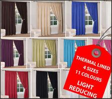 Пара тепловой с подкладкой свет снижение простоя шторы в 11 цветов и 4 размеров