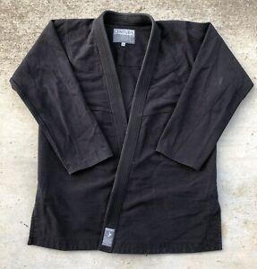 CENTURY jiu jitsu Martial Arts GI, heavy kimono, Black, Size A4