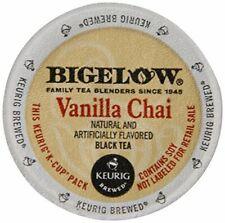 (72 count) Bigelow Vanilla Chai Black Tea Keurig K-Cups FRESH 2021 NEW Box/Case