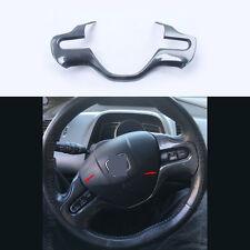 Carbon Fiber Color Interior Steering Wheel Cover Trim For Honda Civic 2006-2008