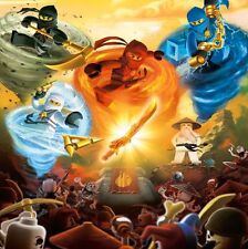 Details about Lego Ninjago Customized Silk Poster Wall Decor 24x24inch