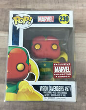 Marvel Collector Corps Exclusive Vision (Avengers #57) Funko Pop! #239