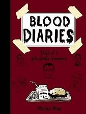 Blood Diaries : Tales of a 6th-Grade Vampire by Marissa Moss (2014, Hardcover)