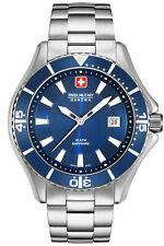 Swiss Military Hanowa Mens Analogue Quartz Watch Stainless Steel 06-5296