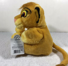 "The Lion King 9"" Simba Hand Puppet Plush by Disney / Applause VTG"