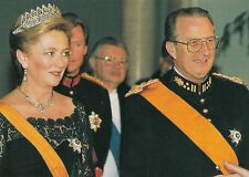 (49343) Postcard King Albert II and Queen Paola of Belgium