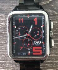 D&G Dolce & Gabbana Men's Black Watch