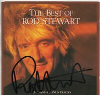 ROD STEWART personally signed - CD cover - The best of Rod Stewart