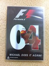 FORMULA ONE 2004 - DVD - Season Review MICHAEL SCHUMACHER - F1 Grand Prix NEW