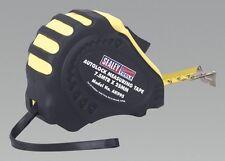 Sealey AK995 Autolock Measuring Tape 7.5M 25Ft X25mm Metric Imperial Workshop