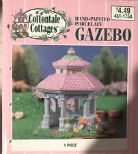 Cottontale Cottages porcelain Gazebo Jo-ann stores 1999 original box