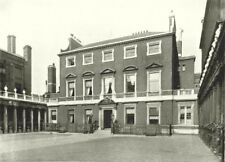 LONDON. Chesterfield House- From the South Audley street gate 1896 old print