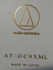 Audio Technica AT-OC9 XML MC-Tonabnehmer mit Micro Linear 0,4mV NEU und OVP