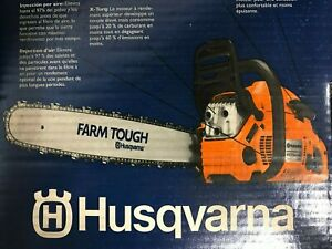 "Husqvarna 455 Rancher 20"" Bar 50GA 3/8 455 Rancher Power Saw - New"