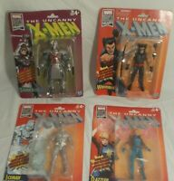 Marvel X Men Bundle Retro Fan Legends Cyclops Dazzler Silver Samurai Wolverine