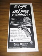 1960 Print Ad Crosman Hahn Pellguns BB Guns Fairport,NY