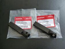 Honda nsr50 cb350 cb450 xrv650 Main Footpegs Set LR Genuine.