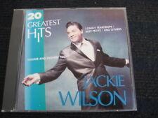 CD  JACKIE WILSON  20 Greatest Hits  Neuwertige CD  Made in Korea  Best of