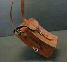 Stunning Heavy Duty English Leather Cartridge Bag
