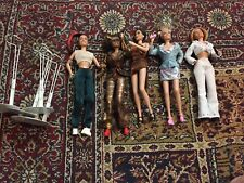 SPICE GIRLS World SUPERSTAR COLLECTION 5 Doll Set * Used Loose