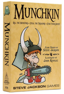 Munchkin Strategy Card Game (2010 Revised Edition)