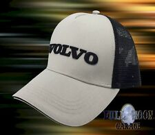 New Volvo Mens 3D Embroidery Trucker Snapback Cap Hat