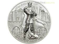 10 $ Dollar Legends of Camelot King Arthur Cook Islands 2 oz Silber PP 2016