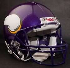 BRETT FAVRE Edition MINNESOTA VIKINGS Riddell AUTHENTIC Football Helmet NFL