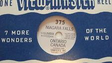 375 Niagara Falls to Toronto Canada 1946 View-master Reel