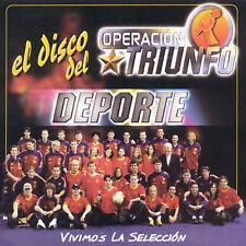 GRUPO TRIUNFO - OPERACI¢N TRIUNFO: EL DISCO DE DEPORTE NEW CD