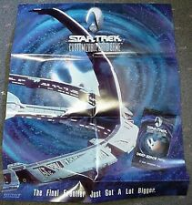 Star Trek Decipher CCG Deep Space 9 Nine Poster