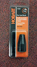 Wire Welder, FLUX CORED NOZZLE, MILLER/HOBART WELDING, PART# 770487