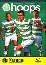 Celtic V se elsborg CHAMPIONS LEAGUE 2013/14 MINT programma