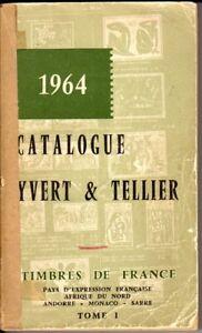 Catalogo Francobolli Francia CATALOGUE YVERT & TELLIER Timbres de France-Africa