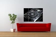 PHOTO MUSIC EQUIPMENT PIONEER CDJ2000 DECK DJ COOL GIANT PRINT POSTER NOR0934