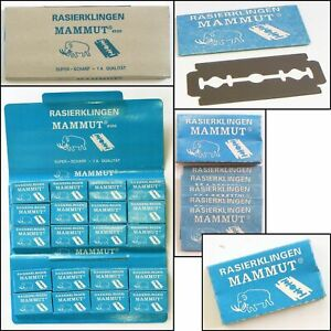 Rasierklingen Super Stainless 10 Packung a5 stück einzeln verpackt Beauty Rasur